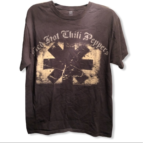 Hanes Other - Red Hot Chili Peppers concert tour shirt